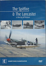 The Spitfire & The Lancaster  (Best Fighter & Heavy Bomber of WW2) DVD New