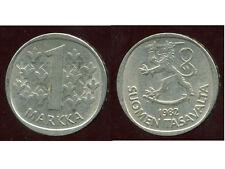 FINLANDE 1 markka 1982