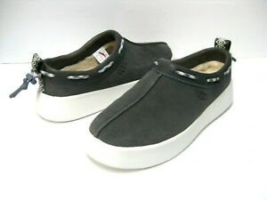 UGG CLASSIC BOOM  WOMEN SLIP ON SUEDE CHARCOAL US 10 /UK 8 /EU 41