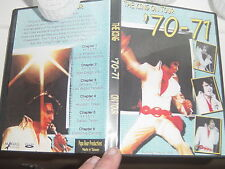 ELVIS PRESLEY DVD- THE KING ON TOUR 1970-71