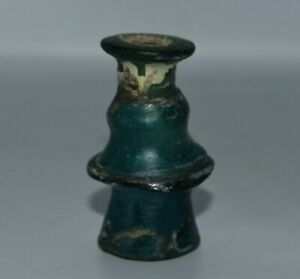 Genuine Ancient Roman Glass Medicine Cosmetics Glass bottle from Israel
