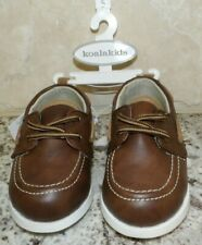 KOALA KIDS BROWN LACE LOAFERS DRESS SHOES - TODDLER BOY'S - SIZE 5 - NEW