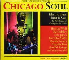 CD: Soul Jazz Presents Chicago Soul: Electric Blues, Funk & Soul, various