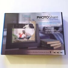 Simply Smart Home Photo Share Frame 10.1 Inch HD LED Touchscreen Display CIB