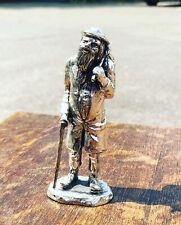 More details for silver plate figure. homeless, highly detailed figure.