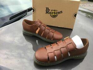 Dr.Martens Fenton brown leather fisherman sandals UK 9 EU 43