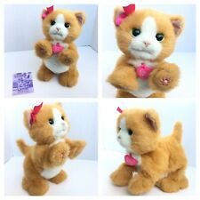 FurReal Friends 2012 Hasbro Daisy Plays Interactive Toy Kitty Cat Fur Real Works