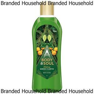 ASTONISH BATH SOAK RELAXES BODY MUSCLE SOUL MIND STRESS RELIEVER GREEN EARTH 1L