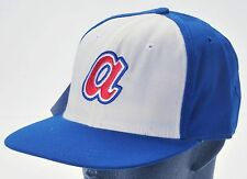 Atlanta Braves Vtg Roman Baseball Cap Fitted 7 3/4 Wool NEW Cooperstown Collect