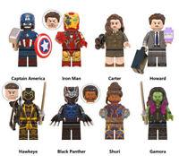 Marvel Avengers Endgame Captain America Iron Man Black Panther Building Blocks