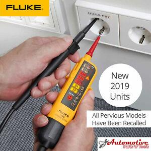 Genuine UK FLUKE T90 Voltage & Continuity 2 Pole Tester