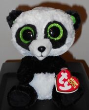 "NM* Ty Beanie Boos ~ BAMBOO the 6"" Panda (Sparkly Ears / Glitter Eyes) ~ NMWMT"