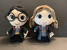 Funko Harry Potter & Hermione Granger Super Cute Plushies Plush Figure Glasses
