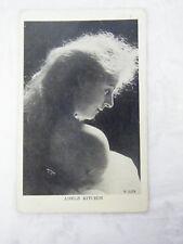 Vintage Real Photo of Adele Ritchie Nemaha, Nebraska June 14, 1909 Postcard