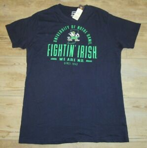 Notre Dame Fighting Irish We Are ND Navy Soft T-Shirt Shirt size Men's XL