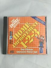 """NEW"" HOME DEPOT Improvement 123 1-2-3 Do-It-Yourself Win PC CD Interactive Tool"