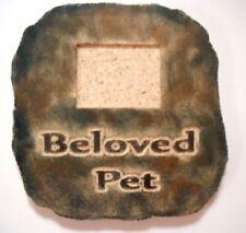 Beloved Pet  mold Plaster concrete memorial animal dog cat plastic mould