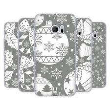 Cover e custodie Head Case Designs per cellulari e palmari silicone / gel / gomma argento