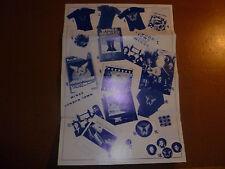 Paul McCartney Wings Fun Club Sandwich Rare Glossy Offers Sheet Beatles