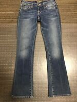 "Lucky Brand Lola Boot Cut Jeans Women's Size 0 / 30"" Inseam"