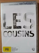 Les Cousins - A film by Claude Chabrol (DVD, 2009) New  Region 4