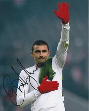 Burak YILMAZ Signed Autograph 10x8 Photo AFTAL COA Galatasaray RARE