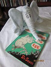 Dr Seuss Horton Hatches The Egg Book 1968 printing, Kohl's cares Nwt horton