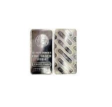 "10 Ounce ENGELHARD .999+ Fine Silver Bar 10oz. (Big ""E"" Style)"
