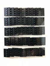 Lego BLACK MINIFIGURE STAND, 3x4 Tile with 4 Studs, 88646 Lot of 50 Baseplates A