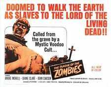 Plague Of Zombies Poster 01 Metal Sign A4 12x8 Aluminium
