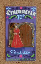 Disney Pin Trading Cinderella 70th Anniversary Step Mother Passholder Le4000 Pin