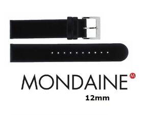 Mondaine Evo 12mm Watch Strap with 2 Free Pins