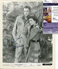 GREGORY PECK ACTOR IN DUEL IN THE SUN SIGNED PHOTO AUTOGRAPH JSA AUTHENTICATED