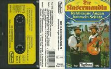 Musik-Kassette : D'Kasermandln Klaus & Ferdl - Rehbraune Augen hat mein Schatz