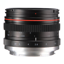 50mm f/1.4 Manual Focus MF Full frame Prime Lens for Canon 6D 5D II IV III 60D