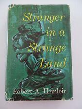 New listing Stranger in a Strange Land, signed by Robert Heinlein