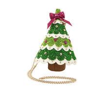 Betsey Johnson KITSCH SPRUCE ME UP Crossbody Handbag BJ74810M CHRISTMAS TREE Bag