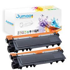 2 Toners cartouches Jumao type TN2320 pour Brother MFC-L2700DW, noir 2600 pages