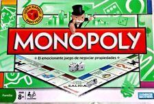 MONOPOLY MONOPOLIO Traditional GAMES  JUEGO SPANISH Board TOYS EN ESPAÑOL NEW