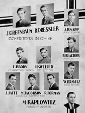 1941 Brooklyn Boys High School Yearbook~Photos~History~Candids~Seniors~Teenagers