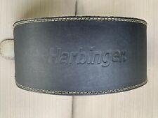Harbinger Leather 6� Padded Weight Lifting Belt Large