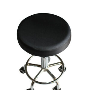 33cm Thick Elastic Barstool Seat Cushion Cover Cotton Stool Cover Round Cha