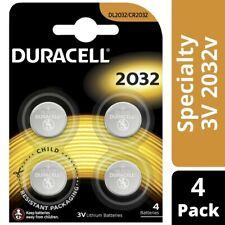 Duracell 3V Lithium Batteries 2032 4 pack
