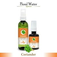 Coriander Hydrosol (Floral Water) 60ml / 100ml Pure And Natural Free Shipping