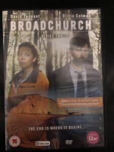 Broadchurch Series 2 DVD David Tennant, Olivia Colman