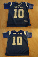 Youth Kentucky Wildcats #10 S (4) Football Jersey Colosseum Athletics Jerse
