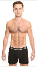 Hurmoso Sexy Men's Underwear Boxer Briefs Size Small Black Colored