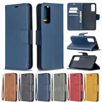 For Samsung Galaxy S20 FE S20 Lite Flip Magnetic Leather Wallet Phone Case Cover