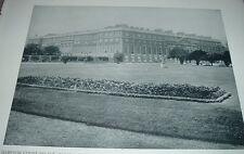 1892 Print HAMPTON COURT PALACE HAMPTON COURT ENGLAND Former Royal Residence