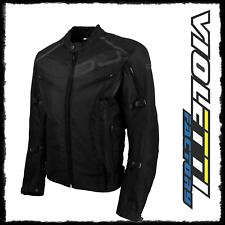 Giacca Jacket Moto 4 stagioni OJ Ride Nero Black Impermeabile sfoderabile Tg S